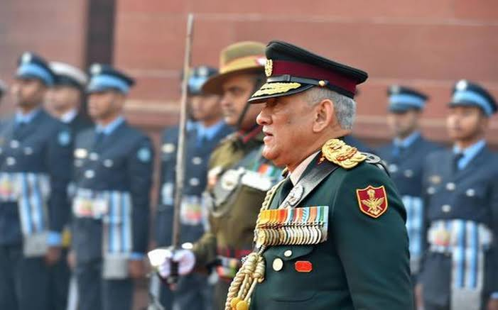 India's First Chief of Defence Staff Gen Bipin Rawat