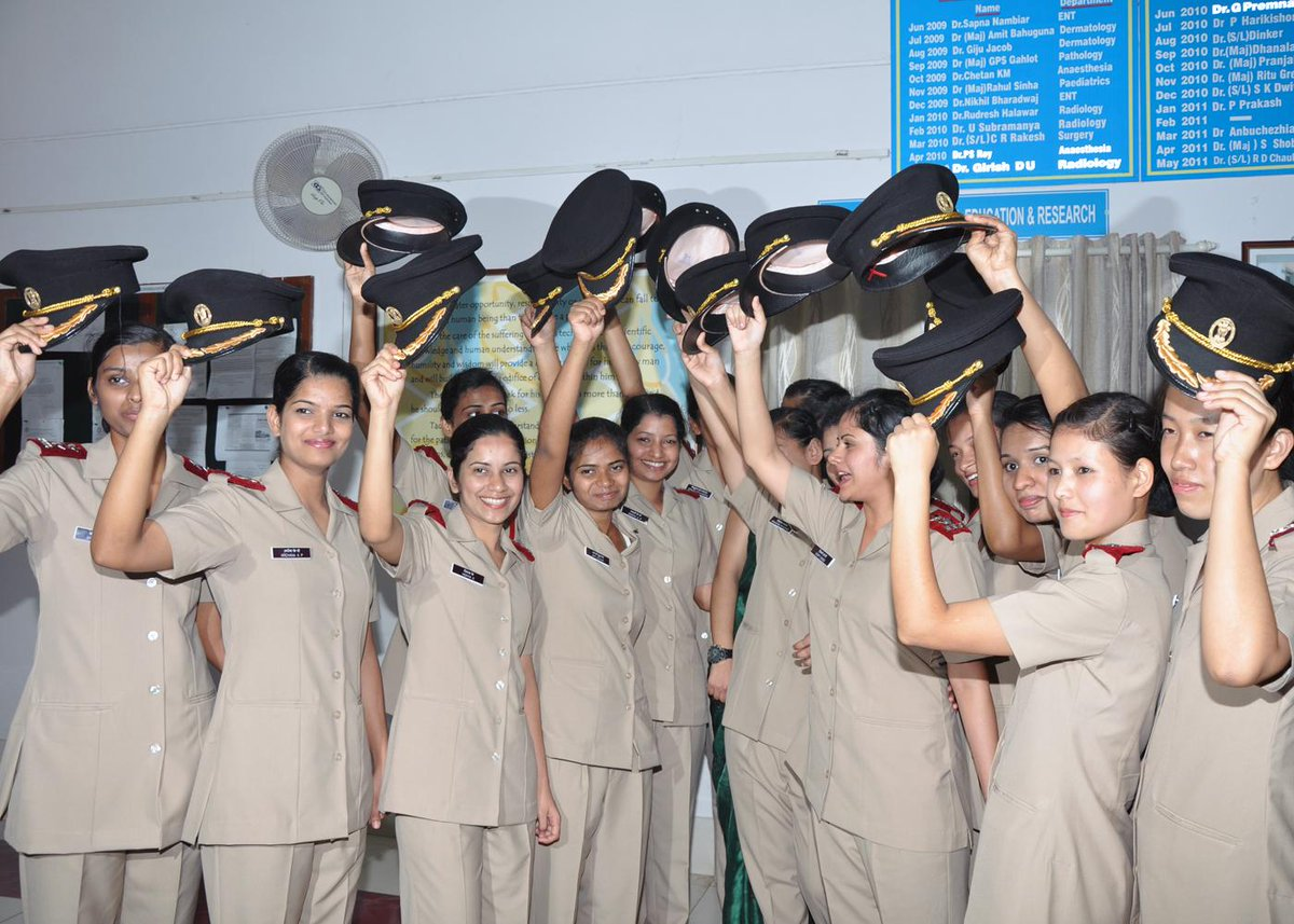Join Military Nursing Service B.Sc. (Nursing) Course- Career for Girls after 12th