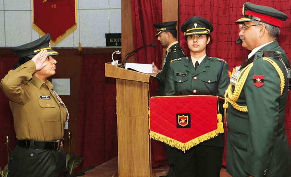 First Lady Officer To Receive Gallantry Award- Lt. Colonel Mitali Madhumita  » Rashtra Defence Academy
