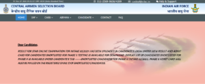 Airmen Group X & Y Result 2020 Released | Download Selection List